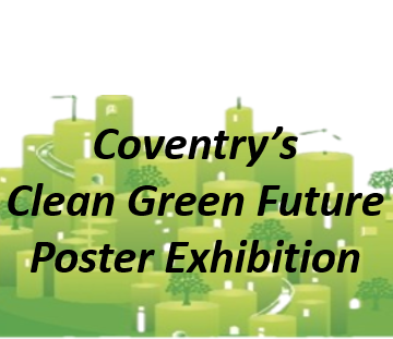 Coventry's Clean Green Future Poster Launch